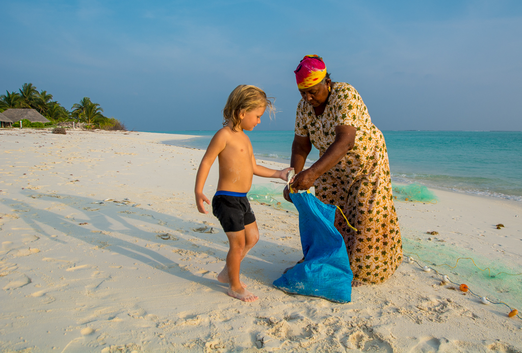 Fishing for Dinner in Lakshadweep